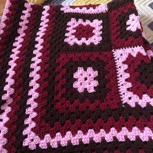Beautiful handmade Afghan blanket